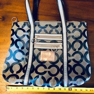 Authentic Blue Coach purse